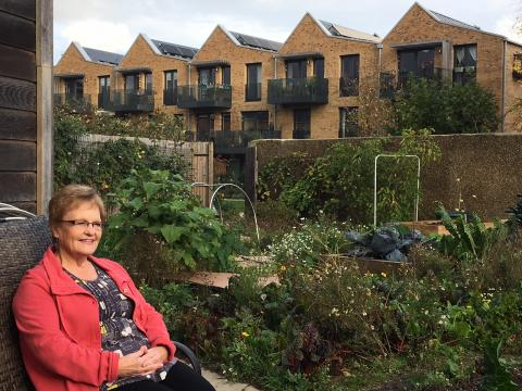 Janet, residetn of New Ground Cohousing